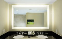 Bathroom Lighted Vanity Mirrors