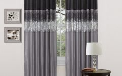 Light-filtering Sheer Single Curtain Panels