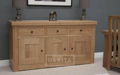 Large Oak Sideboards