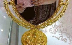 Gold Heart Mirrors