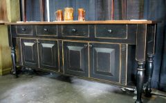 Elegant Black Sideboards and Buffets