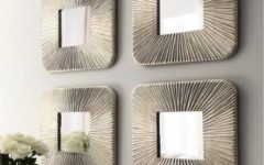 Wall Mirror Sets of 4