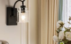 Felsted Matte Black 2 – Bulb Outdoor Armed Sconces