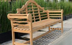 Wallie Teak Garden Benches
