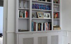 Radiator Covers with Bookshelves