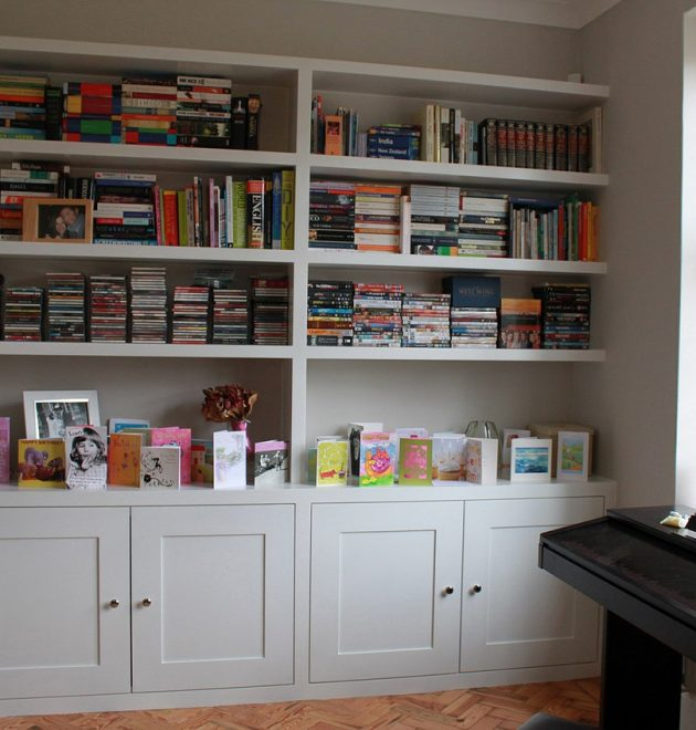 Bookcase With Cupboard Under