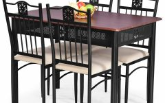 Ganya 5 Piece Dining Sets