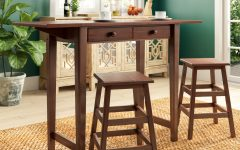Poynter 3 Piece Drop Leaf Dining Sets