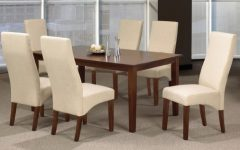 Espresso Finish Wood Classic Design Dining Tables