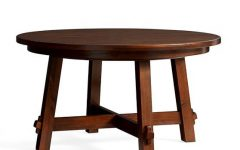Tuscan Chestnut Toscana Pedestal Extending Dining Tables