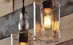 Liquor Bottle Pendant Lights