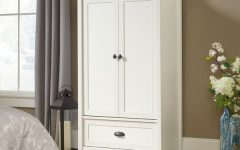 White Wardrobe Armoire