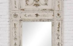Distressed Framed Mirrors
