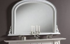 White Overmantle Mirrors