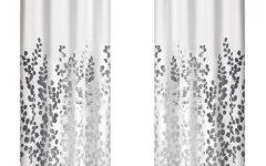 Wilshire Burnout Grommet Top Curtain Panel Pairs