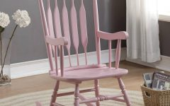 Windsor Arrow Back Country Style Rocking Chairs