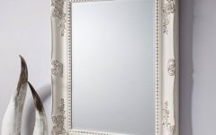 Antique White Wall Mirrors