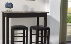 Sheetz 3 Piece Counter Height Dining Sets