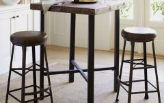 Griffin Reclaimed Wood Bar-height Tables