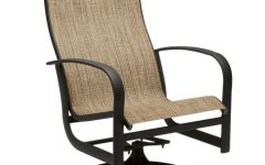 Sling High Back Swivel Chairs