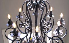 Modern Wrought Iron Chandeliers