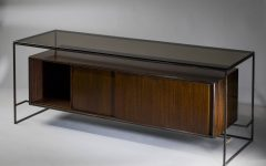 Glass Top Sideboard